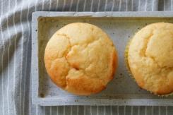 Ricotta Zitronenmuffins