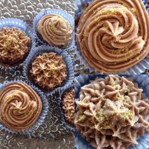 Rotwein Cupcakes mit Zimt
