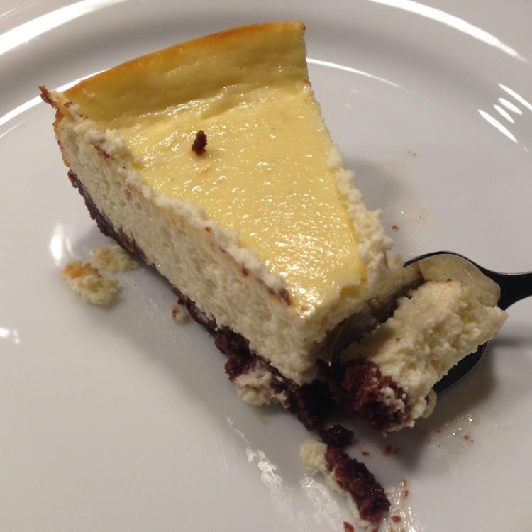 Cheesecake mit Bärentatzenboden