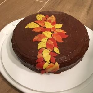 Zuchetti-Kuchen mit Schokolade