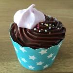 Cupcake mit Meringue