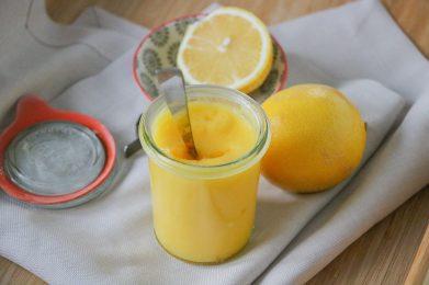 Lemon Curd mit Zitrone