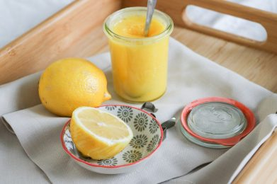 Frisches Lemon Curd