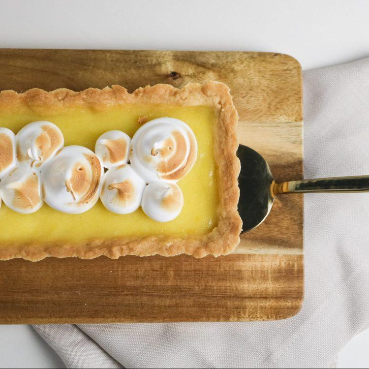 Zitronen Tarte mit Meringue