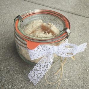 Kokosmakronen im Einmach-Glas
