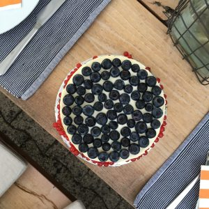 Torte von Oben