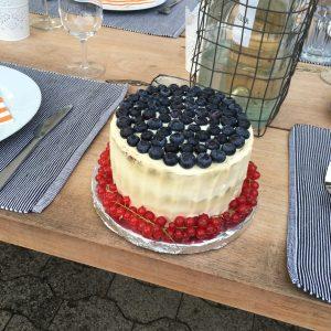 Torte mit Deko