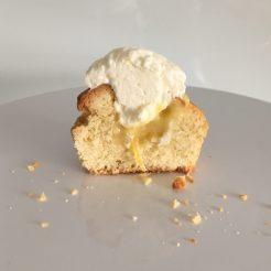 Cupcake mit Lemon Curd Füllung
