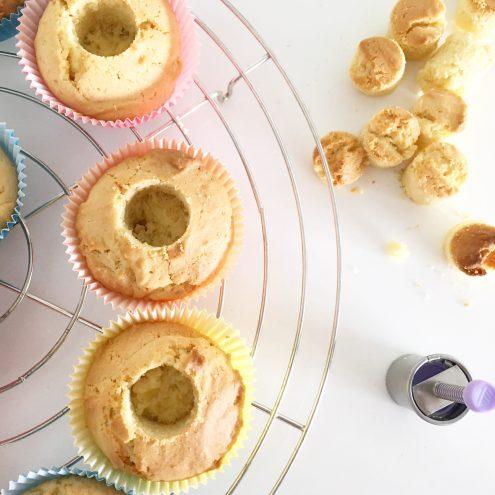 Gefüllte Cupcakes