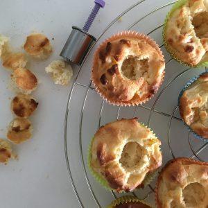 Gefüllte Apfel-Cupcakes
