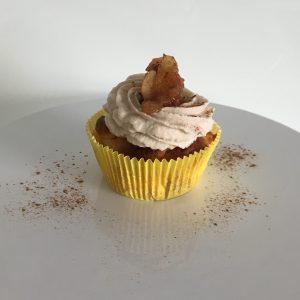 Cupcake mit Apfel Zimt und Mascarone