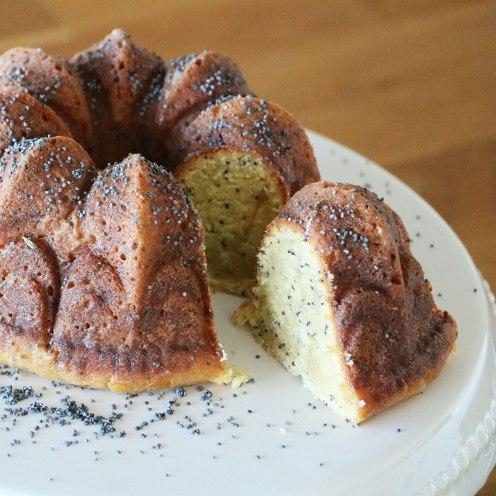 Mohn-Zitronen-Kuchen