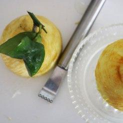 Zitrone gibt die nötige Frische