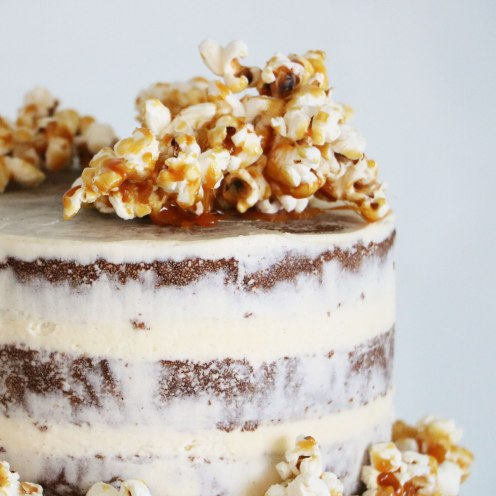 Salted Popcorn Topping