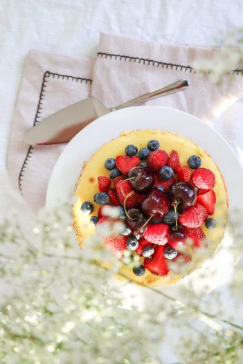 Cheesecake mit Beeren 3