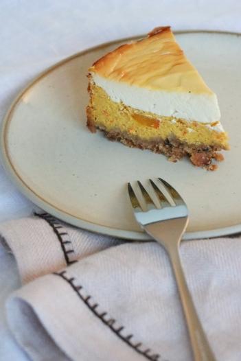 Cheesecake mit Kürbis