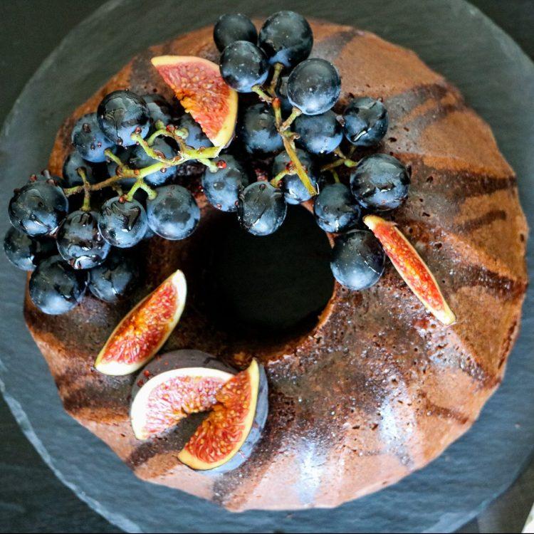 Trauben Gugelhupf mit Portwein